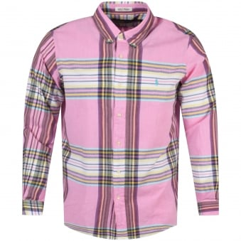 Polo Ralph Lauren Pink Striped Shirt