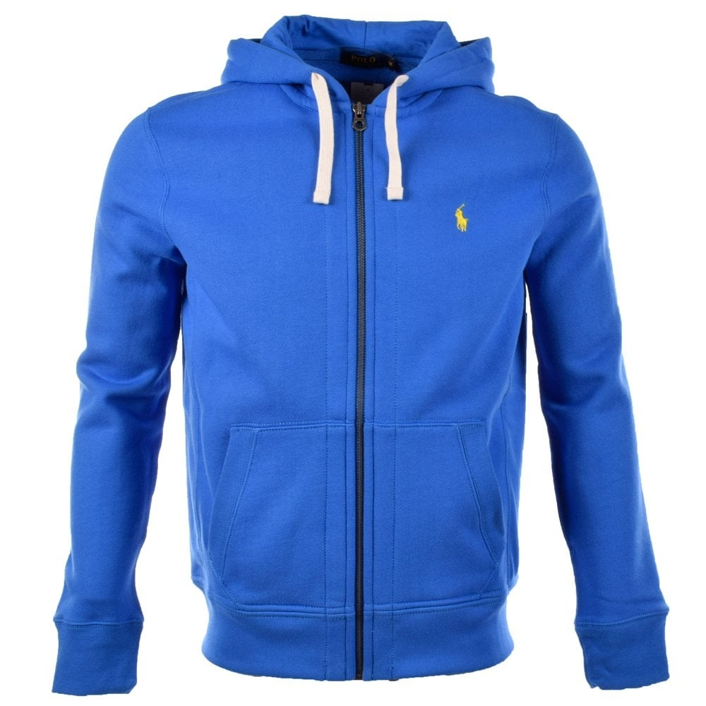 3d3e7b57 Electric Blue Hooded Jumper