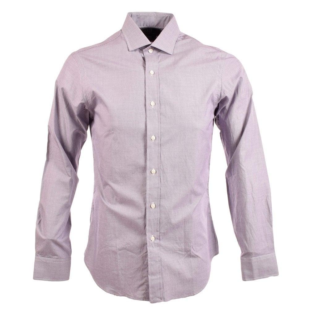 Polo ralph lauren polo ralph lauren estate slim fit long for Long sleeve purple polo shirt