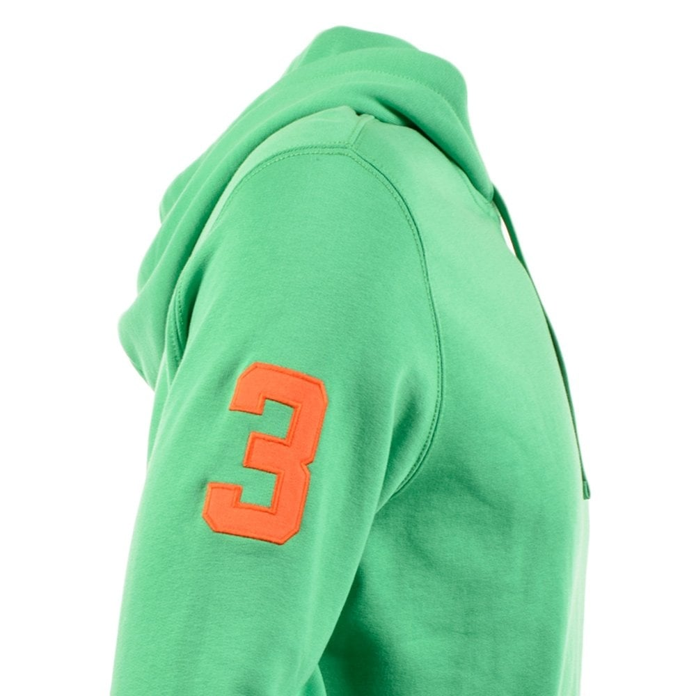 POLO RALPH LAUREN Mayan Green Playa Fleece Hoodie. Click to enlarge