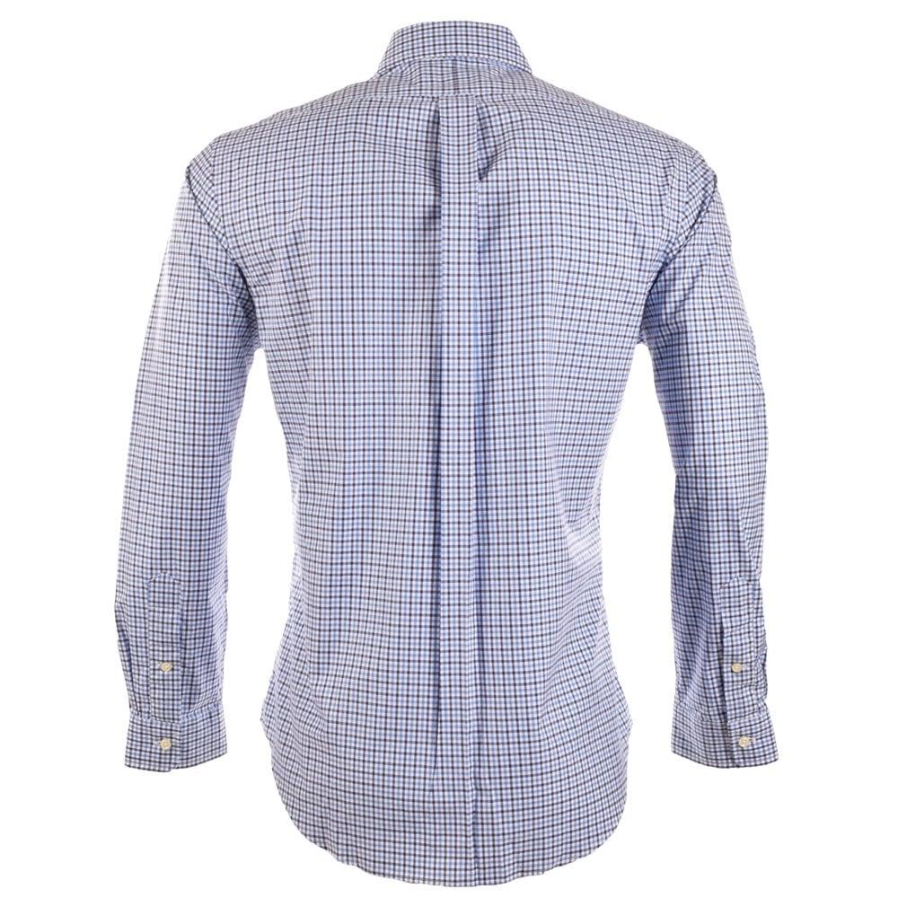 ralph lauren slim fit polo polo ralph lauren slim fit raw denim shirt in blue for men ralph. Black Bedroom Furniture Sets. Home Design Ideas