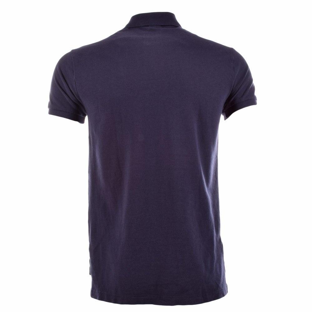 Polo ralph lauren polo ralph lauren navy custom fit for Polo ralph lauren custom fit polo shirt