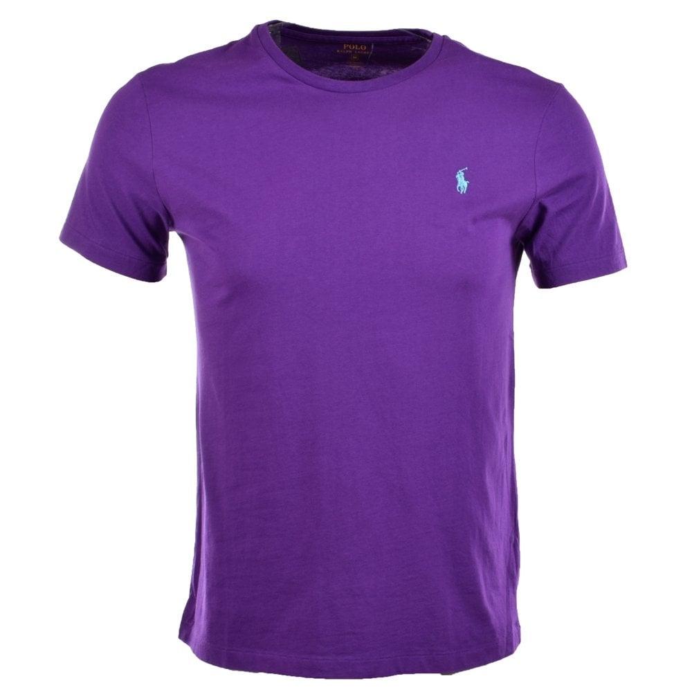 fe583adb POLO RALPH LAUREN Polo Ralph Lauren Purple T-Shirt - Men from ...