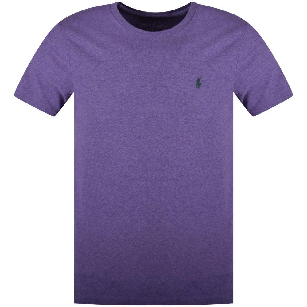 Polo Ralph Lauren Purple Chest Logo T Shirt Men From