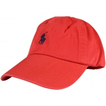 Polo Ralph Lauren Red Logo Baseball Cap