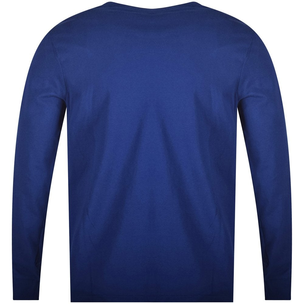 POLO RALPH LAUREN Royal Blue Long Sleeve T-Shirt - Men from ... cbbd2c5f3ae1