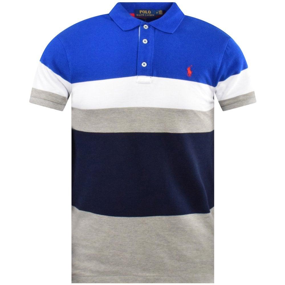 POLO RALPH LAUREN Striped Slim Polo Shirt