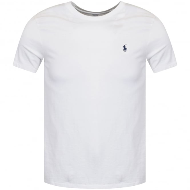 5b7e35acad1 POLO RALPH LAUREN Polo Ralph Lauren White Crew Neck T-Shirt - Men ...
