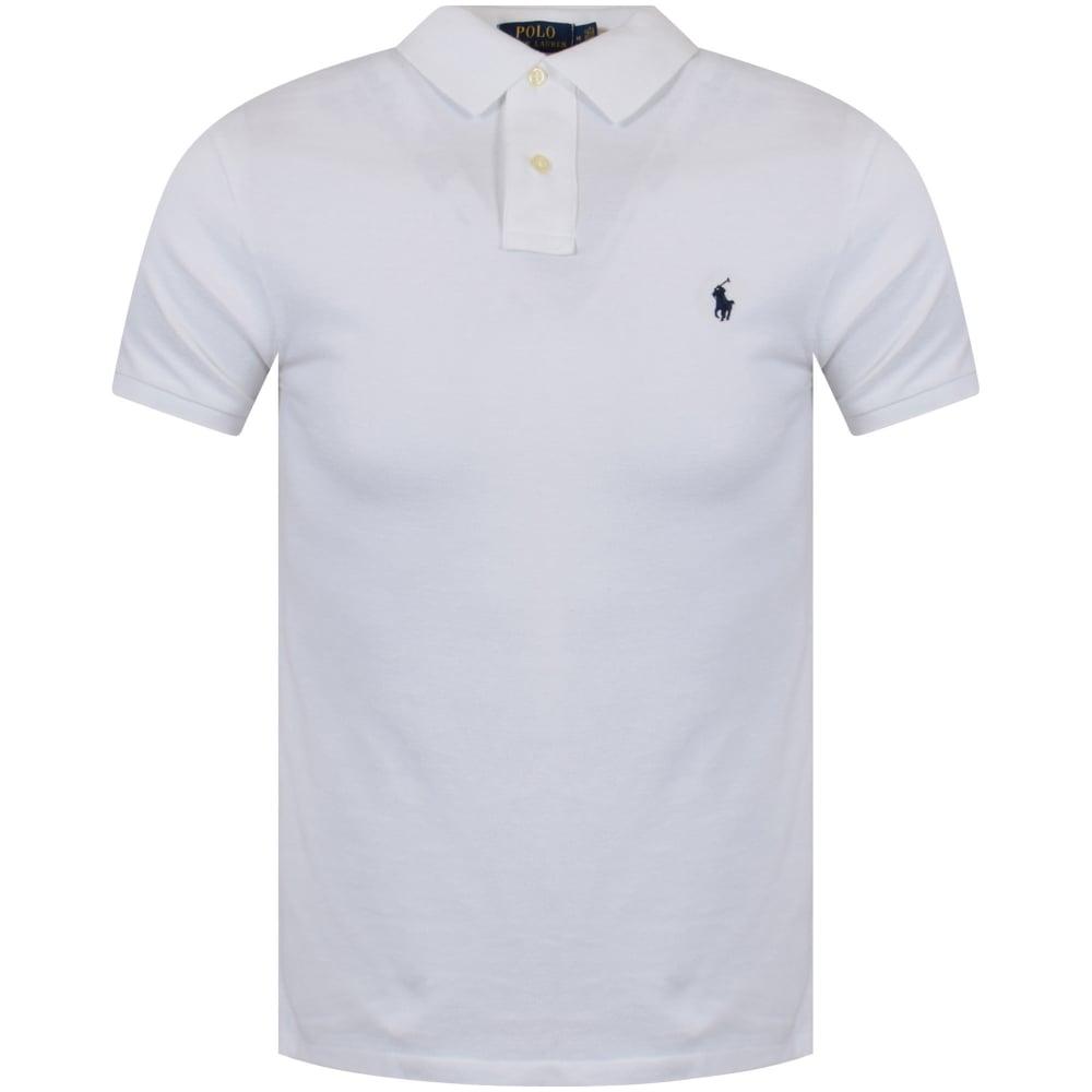 mens white ralph lauren polo shirt