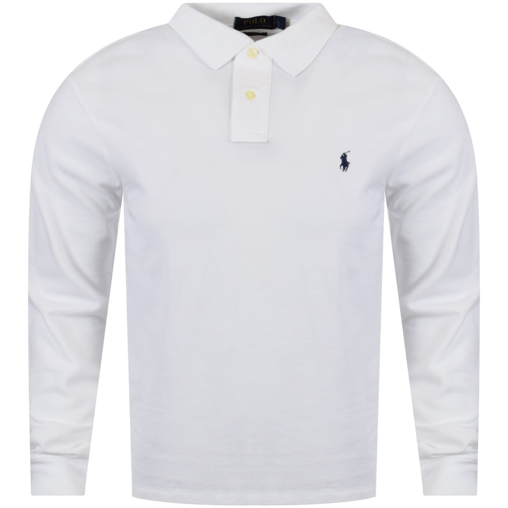 e68859709b35 POLO RALPH LAUREN Polo Ralph Lauren White Slim Fit Polo Shirt - Men ...