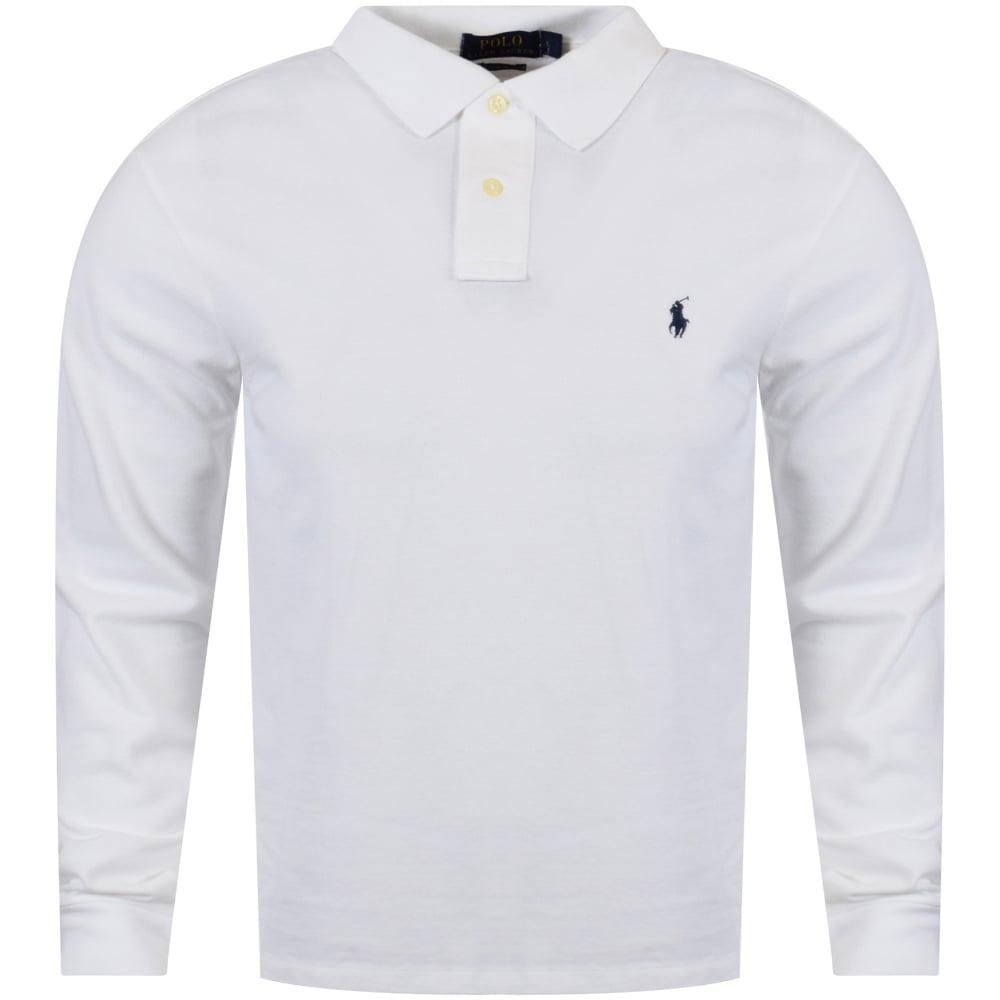 73ffe928 POLO RALPH LAUREN Polo Ralph Lauren White Slim Fit Polo Shirt