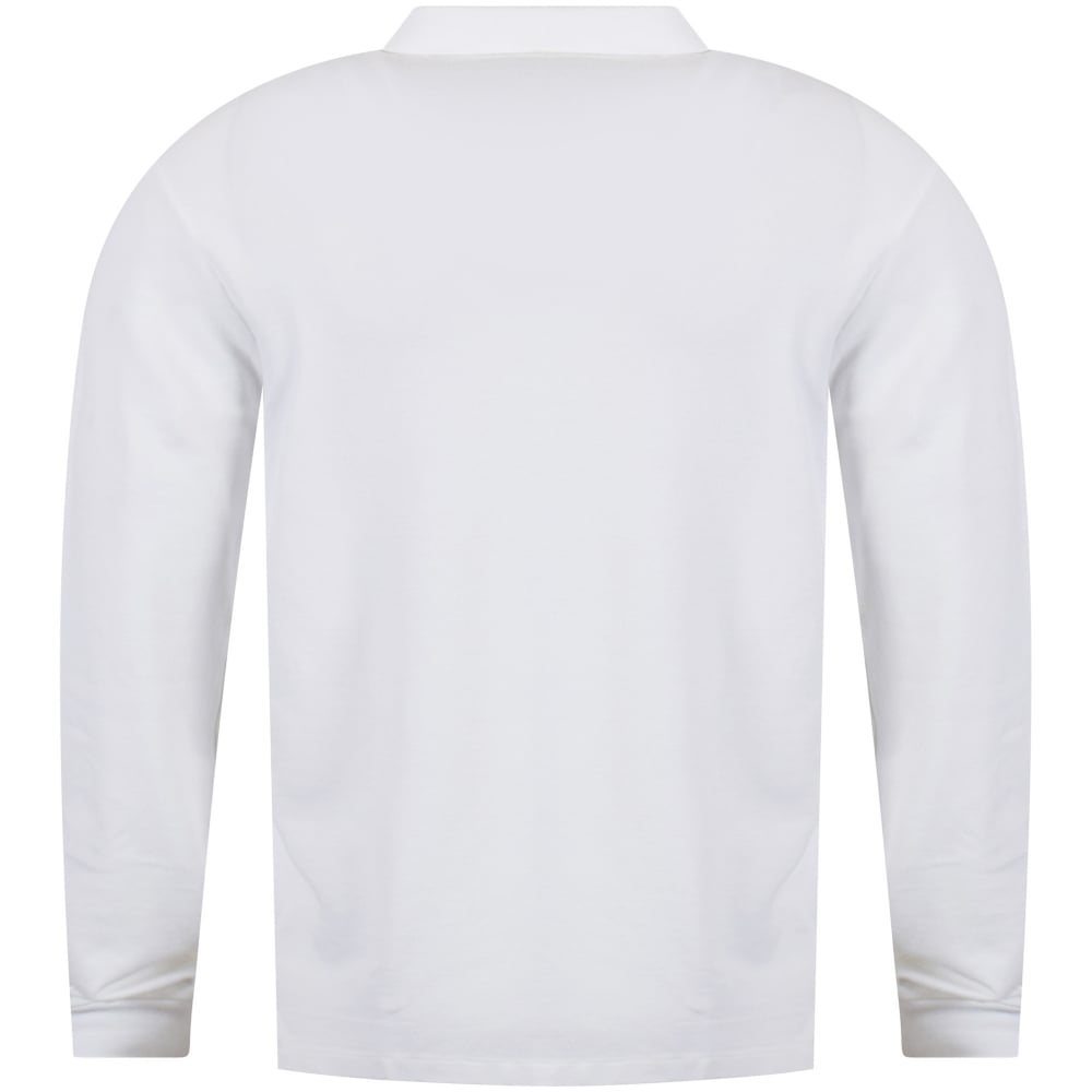 Polo Ralph Lauren Polo Ralph Lauren White Slim Fit Polo Shirt Men