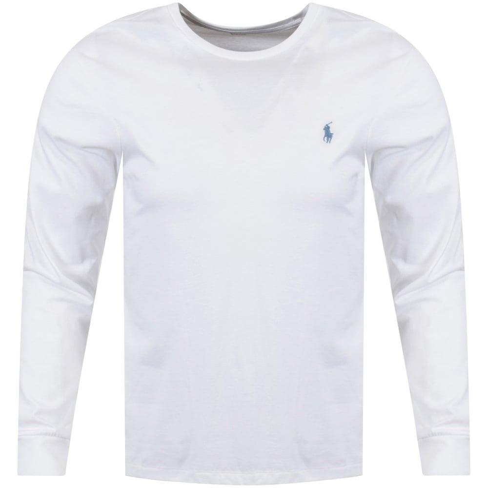 054b6d5986 POLO RALPH LAUREN Polo Ralph Lauren White Slim Fit T-Shirt