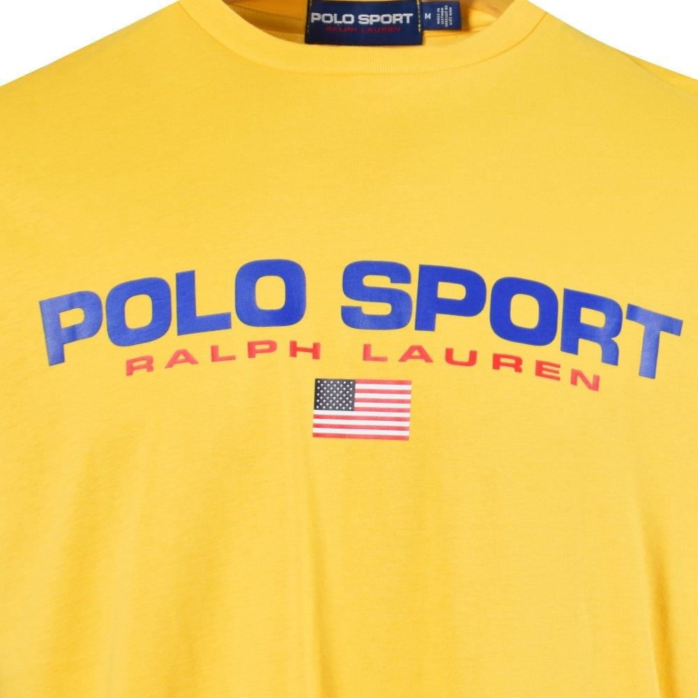 Sport Yellow Classic T Yellow T Classic Sport Shirt sdrhCtBQx