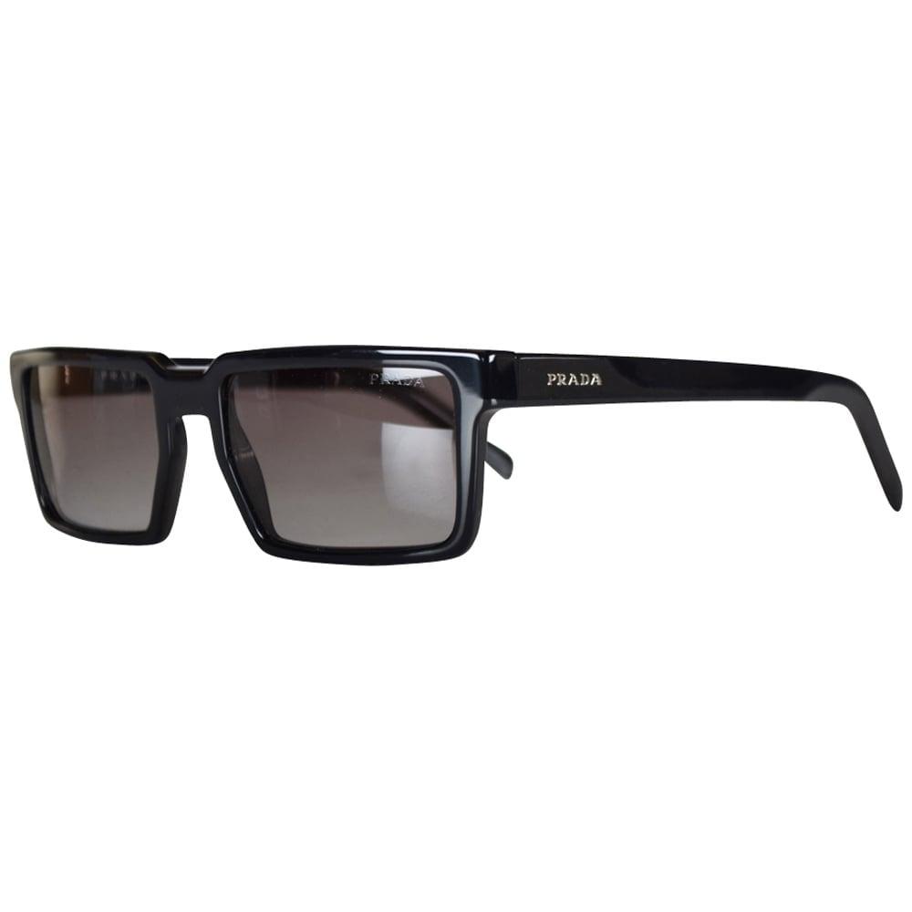 PRADA SUNGLASSES Prada Black Small Frame Sunglasses - Men from ...