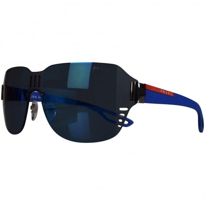 9a4d10ab37ea PRADA SUNGLASSES Prada Blue Tint Lens Logo Sunglasses - Men from ...