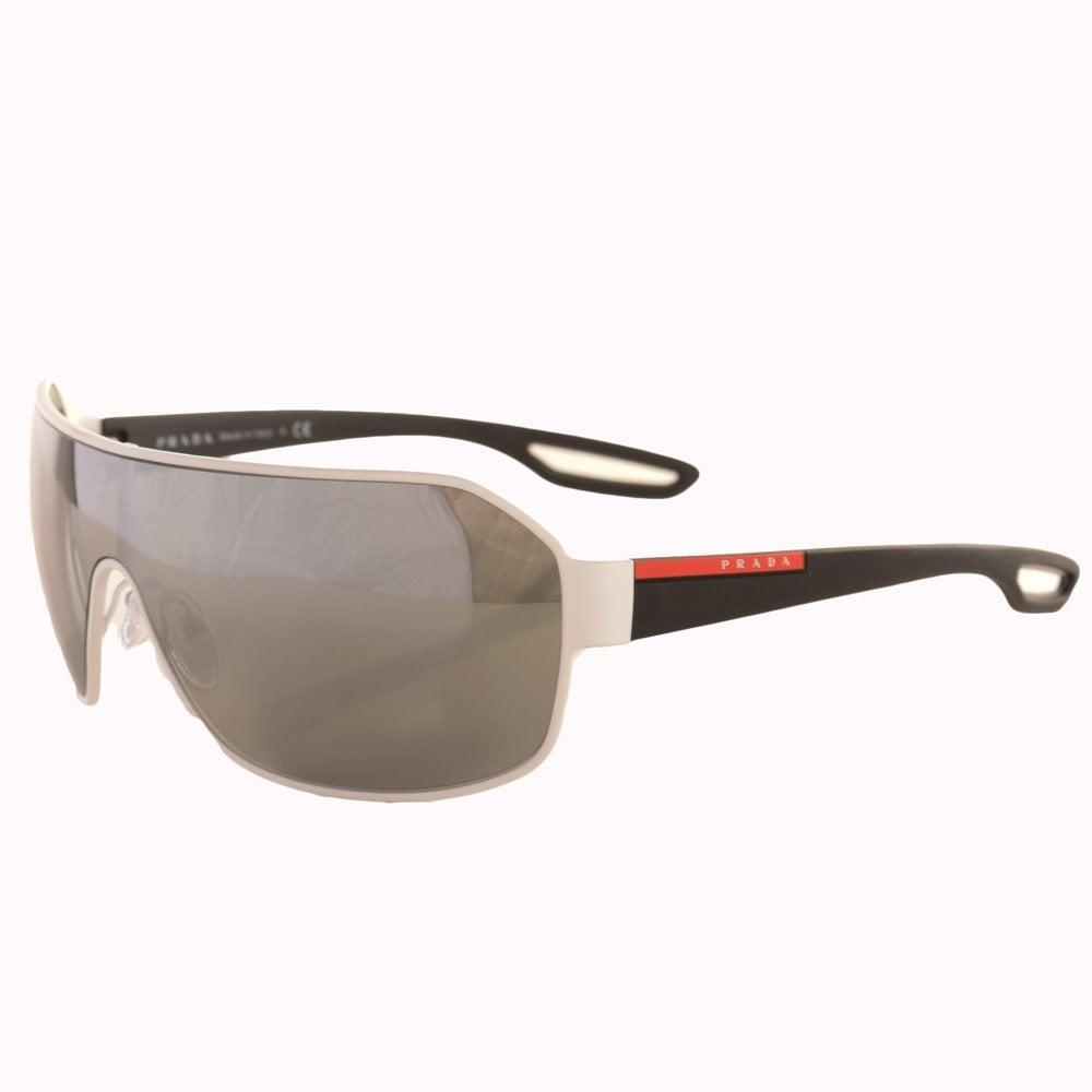 prada sport sunglasses prada eyewear white wrap around