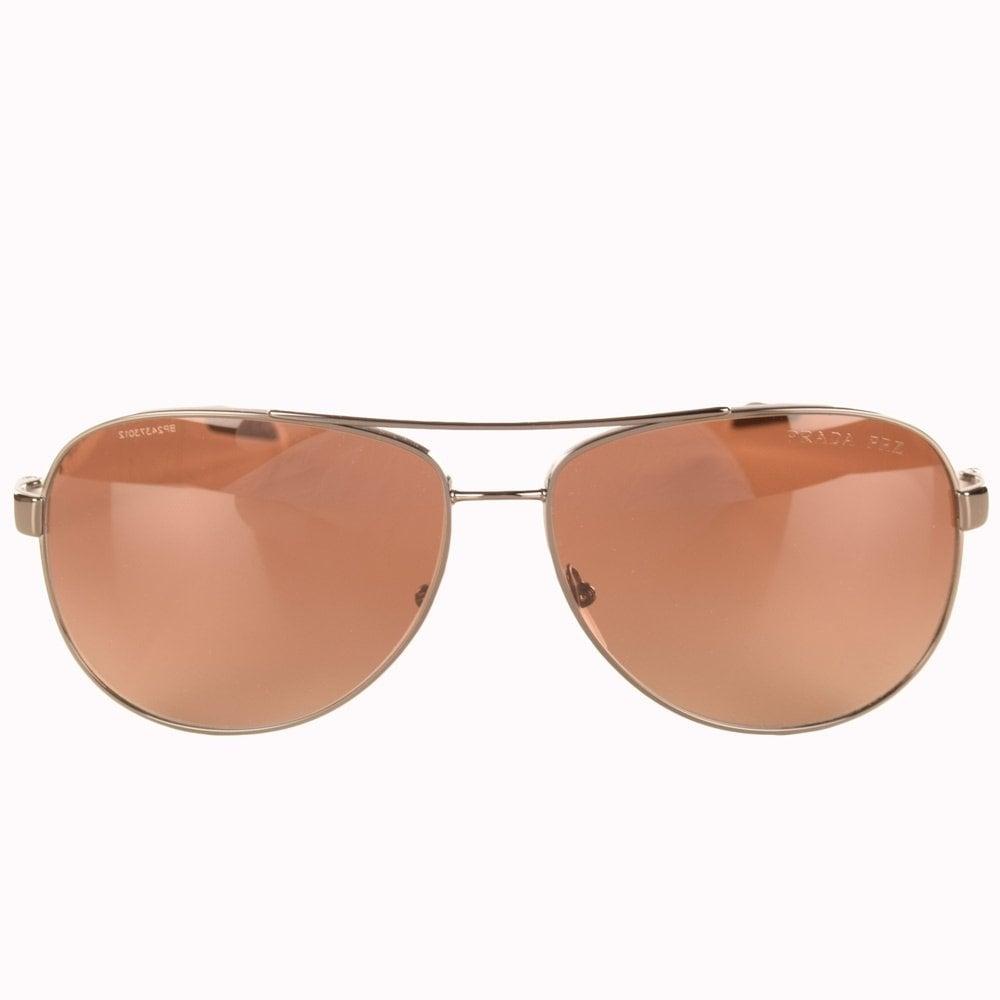 2c0fdd7f352aa Prada White Aviator Sunglasses « Heritage Malta