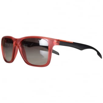 Prada Red Contrast Wayfarer Sunglasses