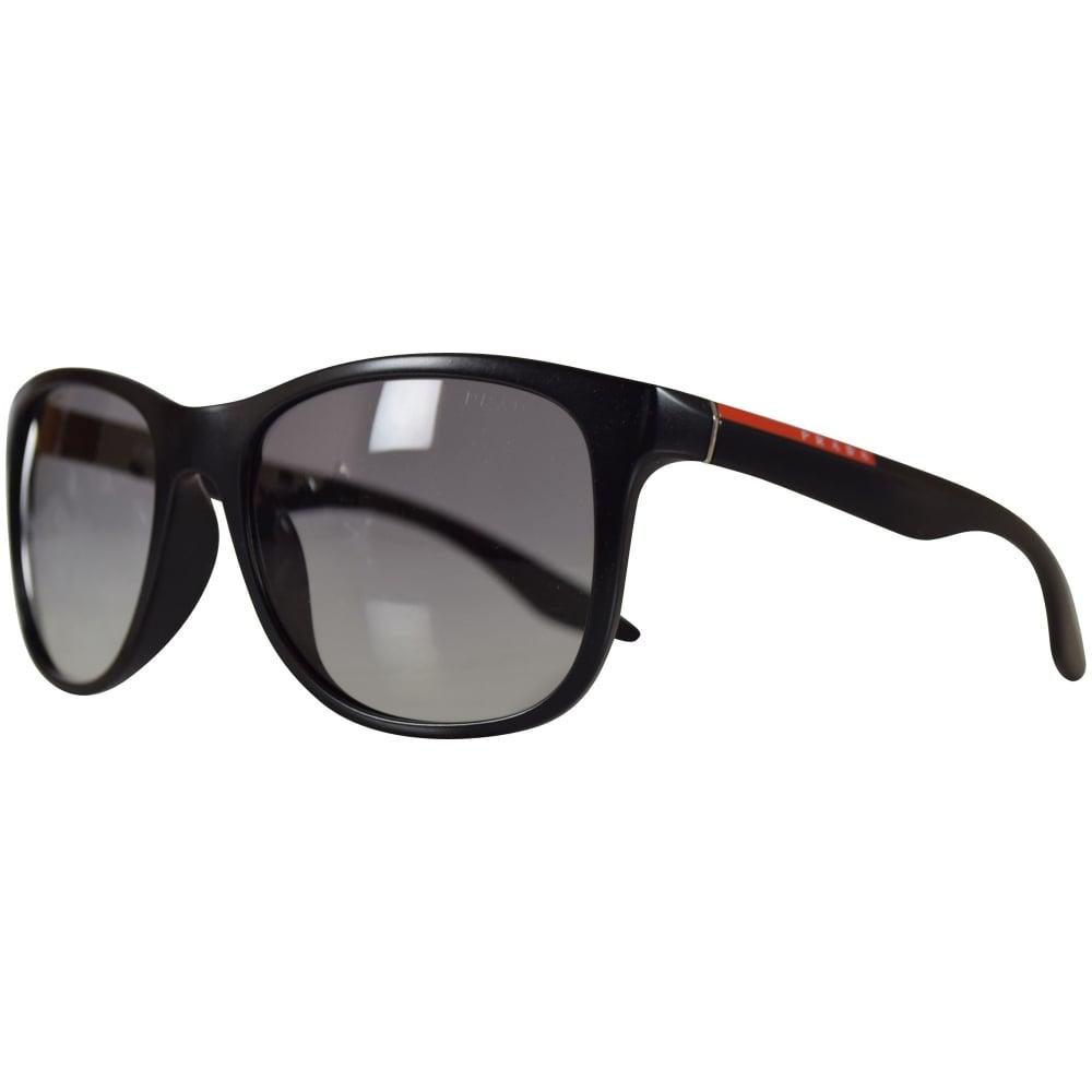 cd4cbdd6c710 ... closeout prada sport matte black wayfarer sunglasses 43bf9 344d6