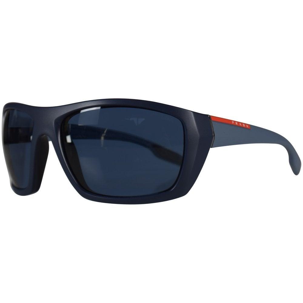 6fed33af2116 ... order prada vy70d261 matte blue sunglasses 7c1c0 d59a8