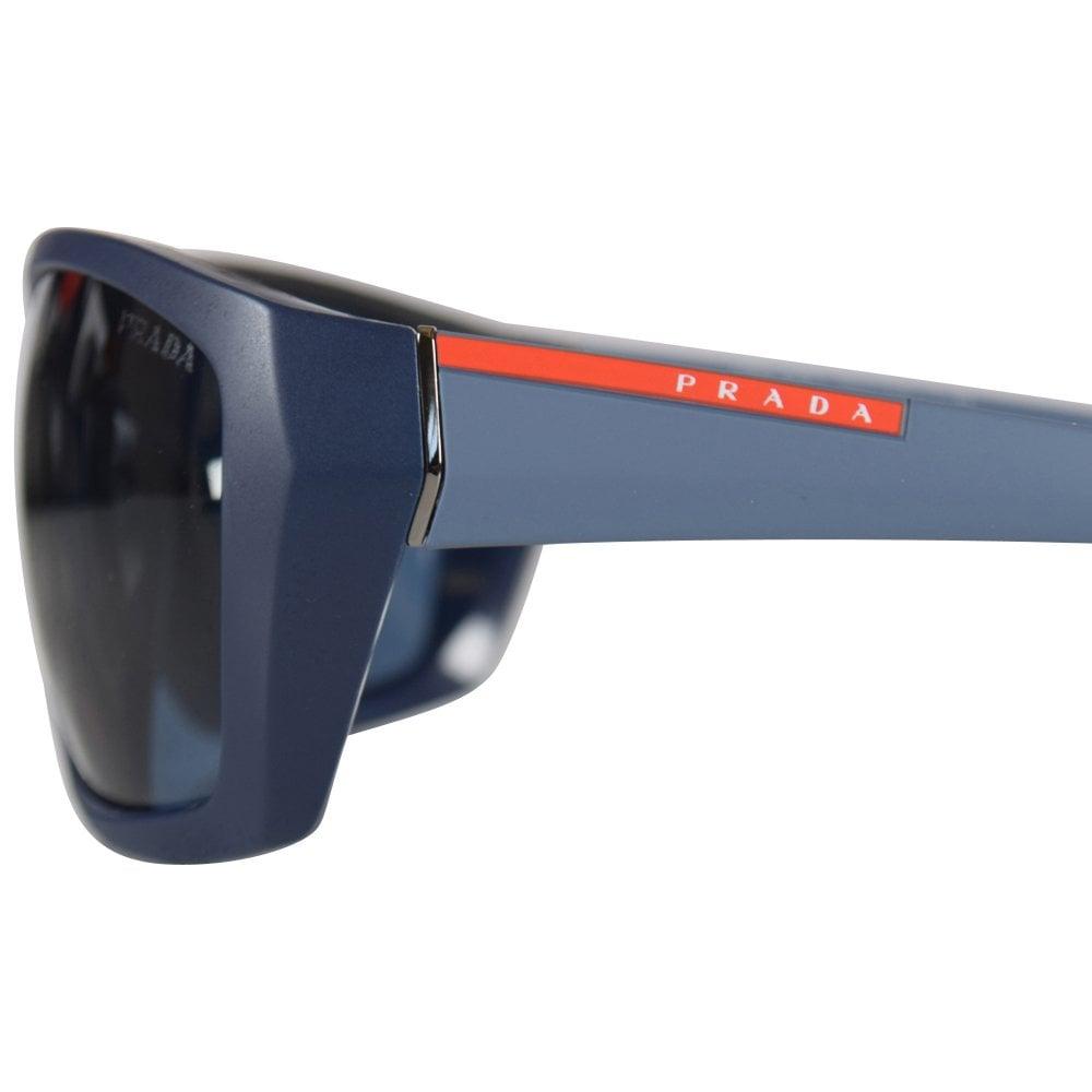 23e4de050ad order prada vy70d261 matte blue sunglasses 52c1e 18566