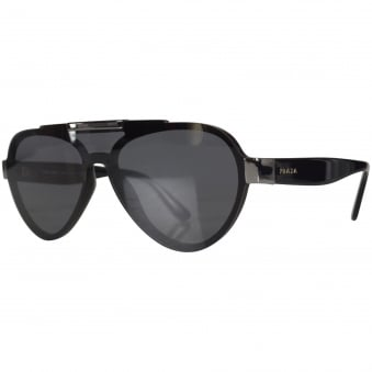 Prada Black Aviator Sunglasses