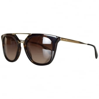 Prada Tortoise Shell Cinema Sunglasses