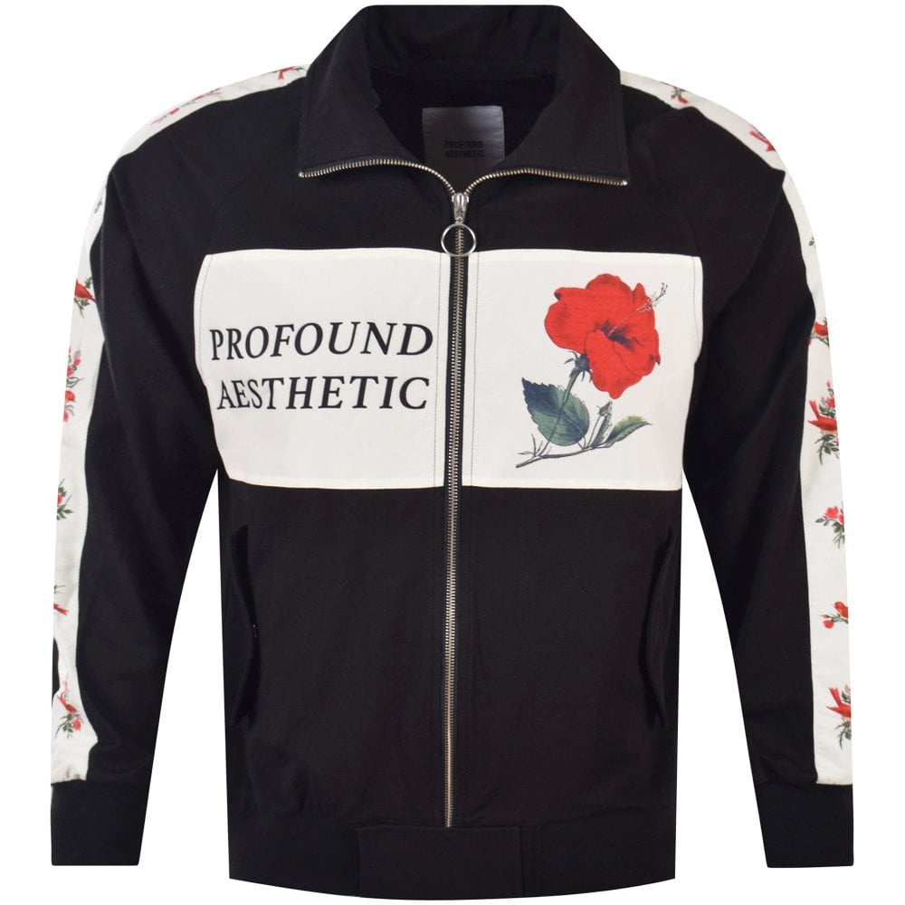 54839f72 PROFOUND Profound Black Rose Panel Track Top - Men from ...