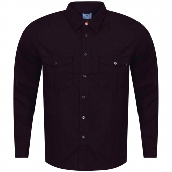 PS Paul Smith Black Button Up Long Sleeve Shirt