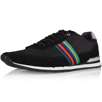 PS Paul Smith Black Svenson Trainers