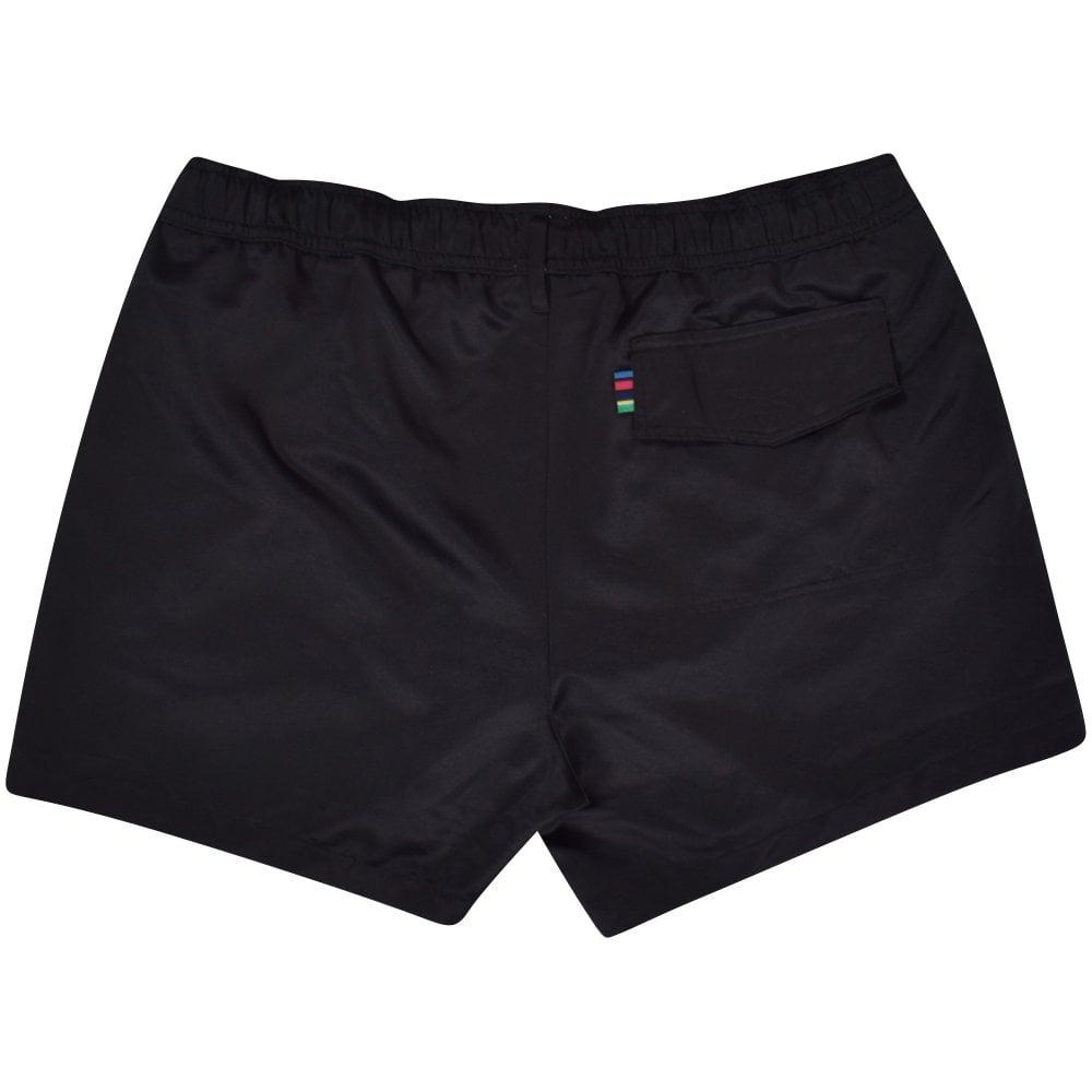 4af6d6cb3fc78 PS PAUL SMITH Black Zebra Logo Swim Shorts - Department from ...