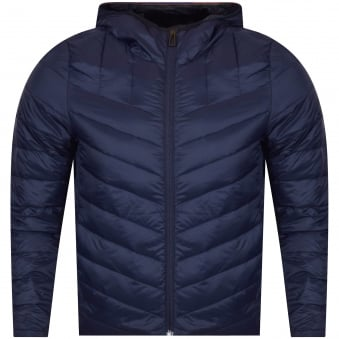 PS Paul Smith Navy Puffer Down Jacket