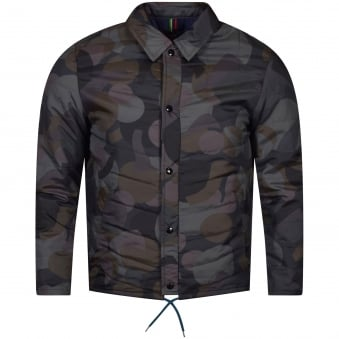 Paul Smith Camo Quilted Jacket