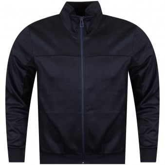 Paul Smith Navy Zip Track Top