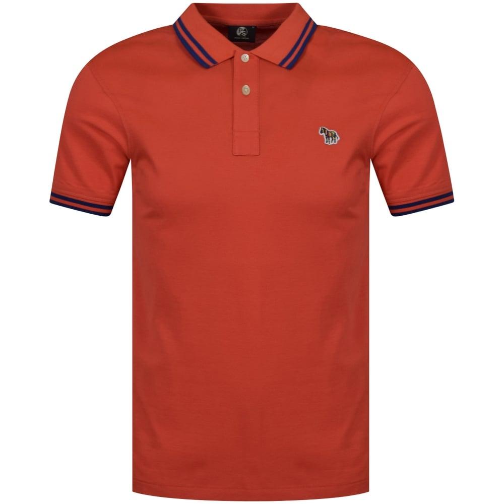 PS PAUL SMITH Paul Smith Orange Logo Polo Shirt - Men from ... 33e0d83c2b89