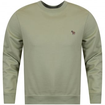 Paul Smith Sage Logo Sweatshirt