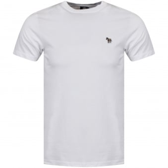 Paul Smith White Slim Fit T-Shirt