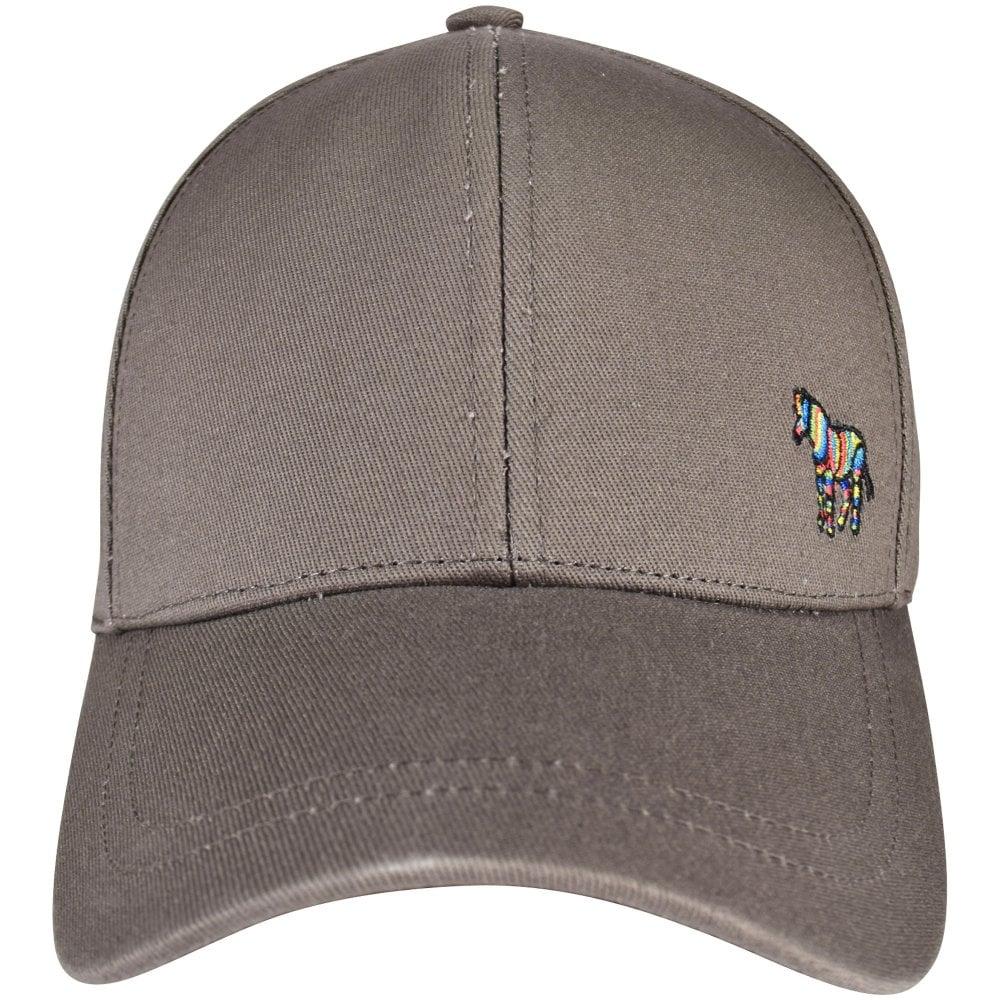 dedeb682e9a PS PAUL SMITH Slate Grey PS Zebra Baseball Cap - Men from ...