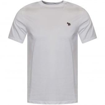 PS Paul Smith White Crew Neck Logo T-Shirt