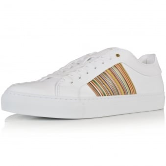 PS Paul Smith White Ivo Trainers