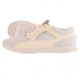 Ransom Valley Lite White Croc Trainers