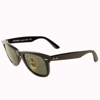 Ray-Ban Black New Wayfarer Sunglasses