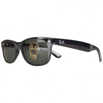 Ray Ban Black New Wayfarer Sunglasses