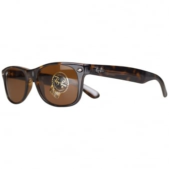 Ray Ban Havana Wayfarer Light Sunglasses