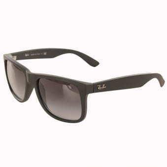 Ray-Ban Matte Black Justin Sunglasses