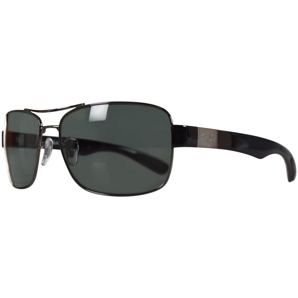 ae5efe46aa RAY-BAN SUNGLASSES Ray Ban Sunglasses Black Active Sunglasses - Men from  Brother2Brother UK Ray-Ban Active Lifestyles Square Wraparound Sunglasses  in Shiny ...
