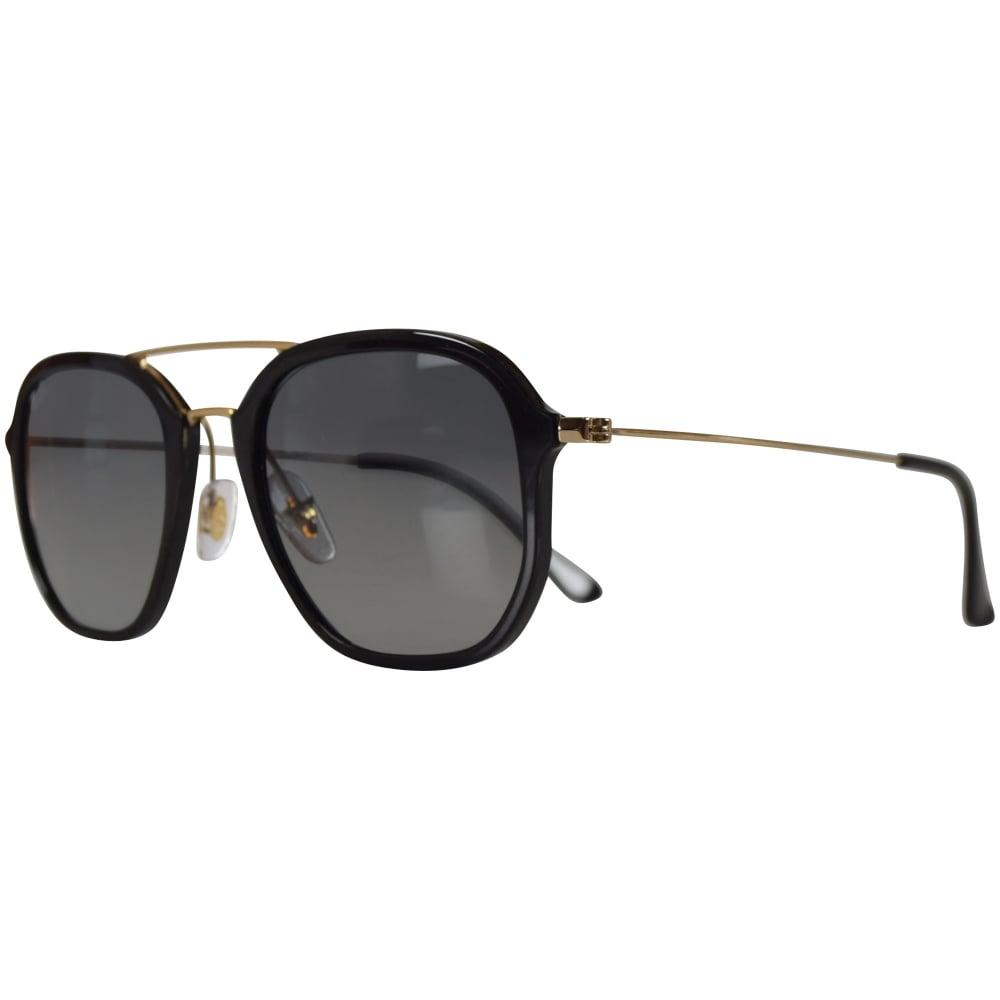 d6f07c6c533f9 RAY-BAN SUNGLASSES Ray Ban Sunglasses Black Gold Highstreet Sunglasses -  Men from Brother2Brother UK