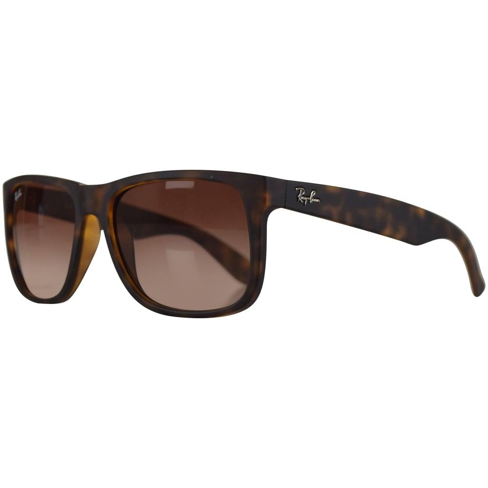 de389e565c5 RAY-BAN SUNGLASSES Ray Ban Sunglasses Matte Havana Brown Rubber ...