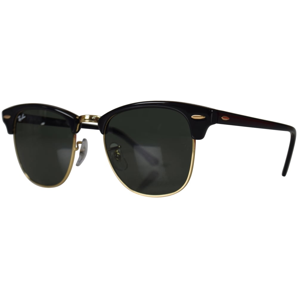 f0dc71a3b45a RAY-BAN SUNGLASSES Ray-Ban Black Gold Wayfarer Sunglasses - Men from  Brother2Brother UK